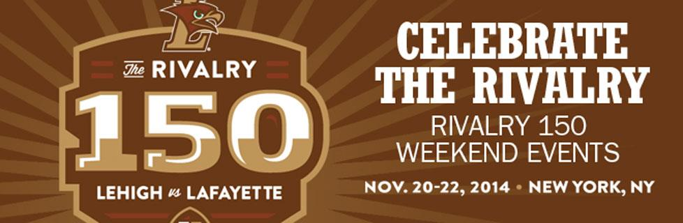 See you in NYC for the Rivalry 150 weekend events