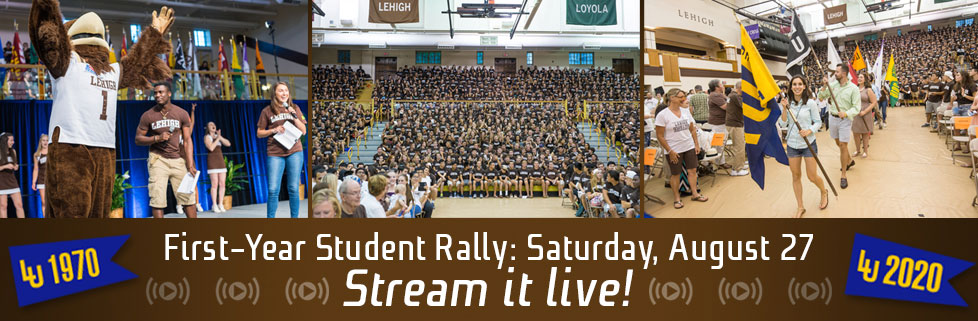 First-Year Student Rally 2016!