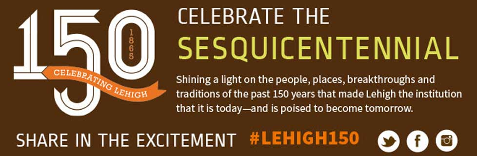 Register now for Lehigh@150